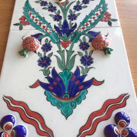 Turkish Tile Painting Processes- 3D Tile New Technique