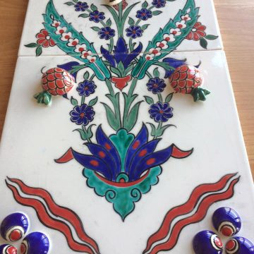 Turkish Tile Painting Processes- 3D Tile New Technique